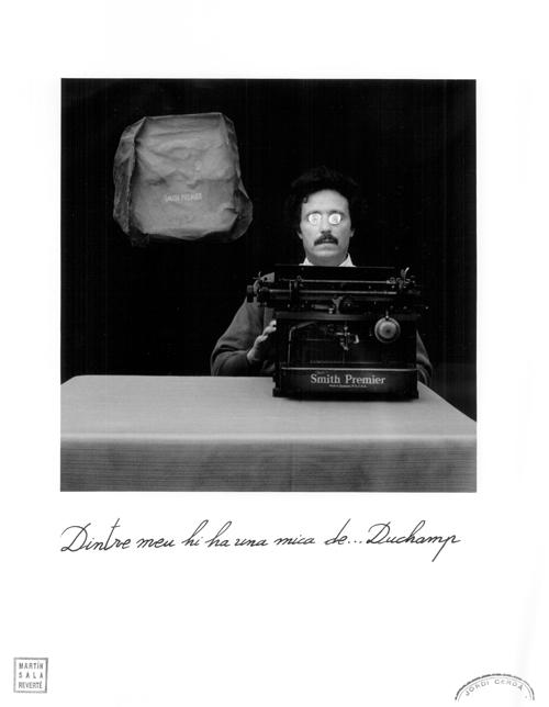 Dintre meu hi ha una mica de Duchamp