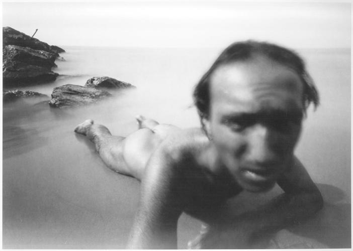 Selfportrait. Cubelles 1985