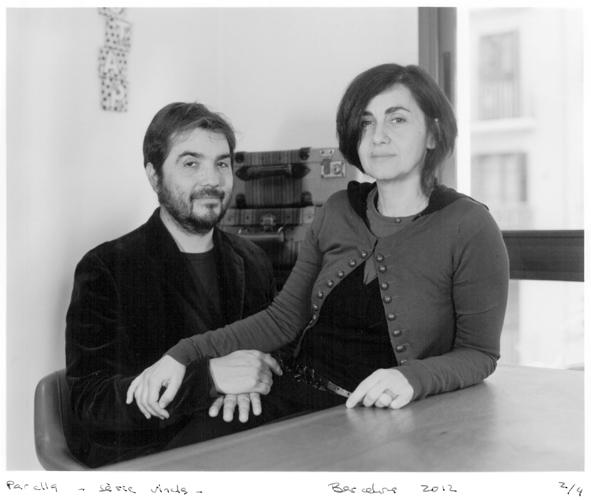 Couple. Barcelona 2012